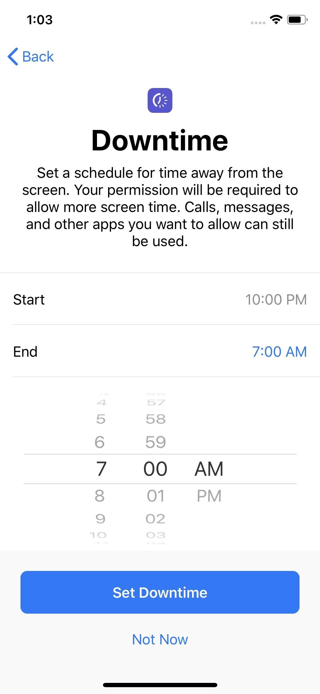 How to Enable Downtime on Your iPhone to Help Stay Distraction-Free