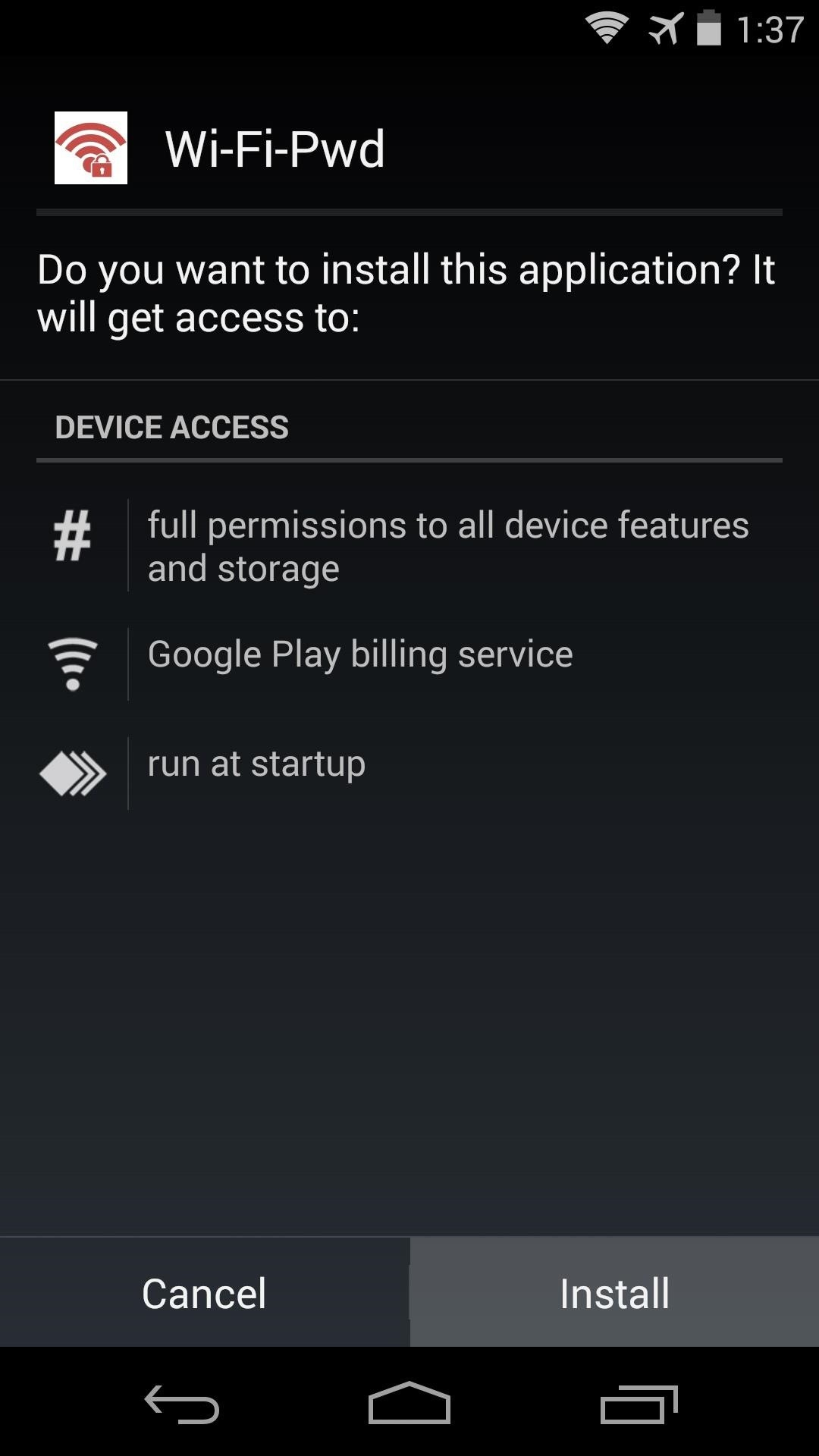 How to Easily Share Your Complicated Wi-Fi Password Using Your Nexus 5