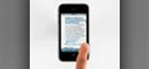 Browse the web with Safari on the Apple iPhone 3G