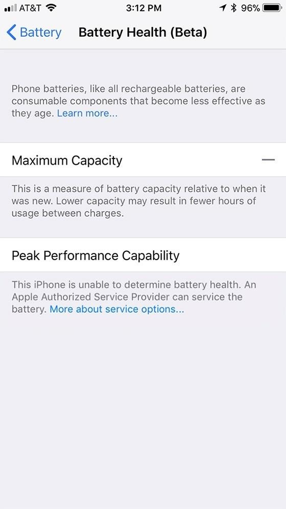 iOS 11.3 Beta 2 Released, Includes Battery Health Information & Controls