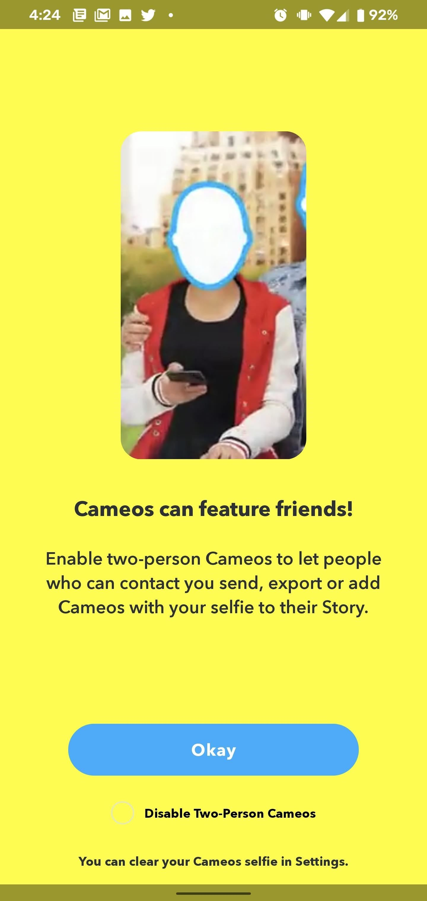 Add Personalized Animated Stickers to Your Snapchat Photos & Videos with Cameos