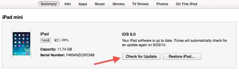 How to Update Your iPad, iPhone, or iPod Touch to iOS 8