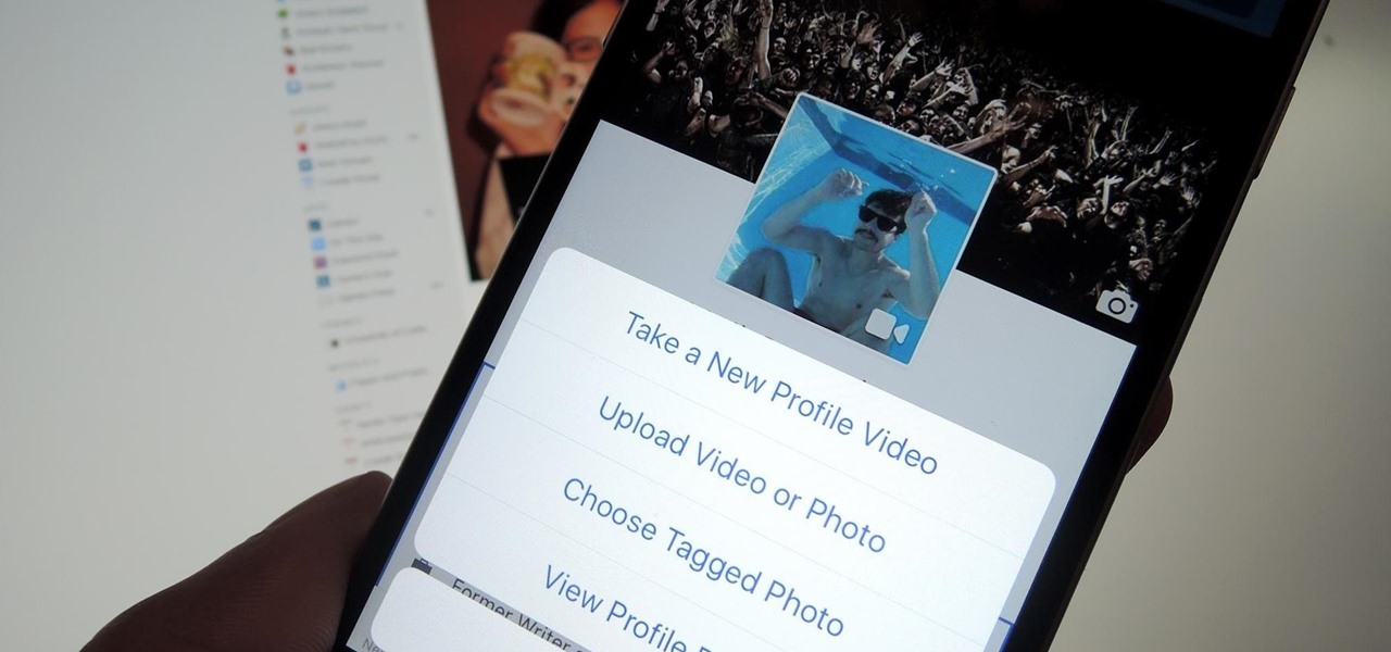 Set Video Profile Pics on Facebook