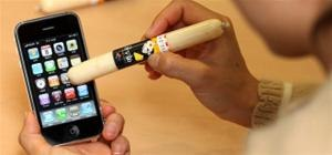 South Koreans Use Pork Digits as iPhone Stylus