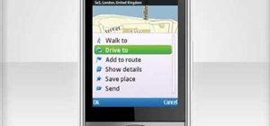 Use the Ovi Maps navigation app on a Nokia C5