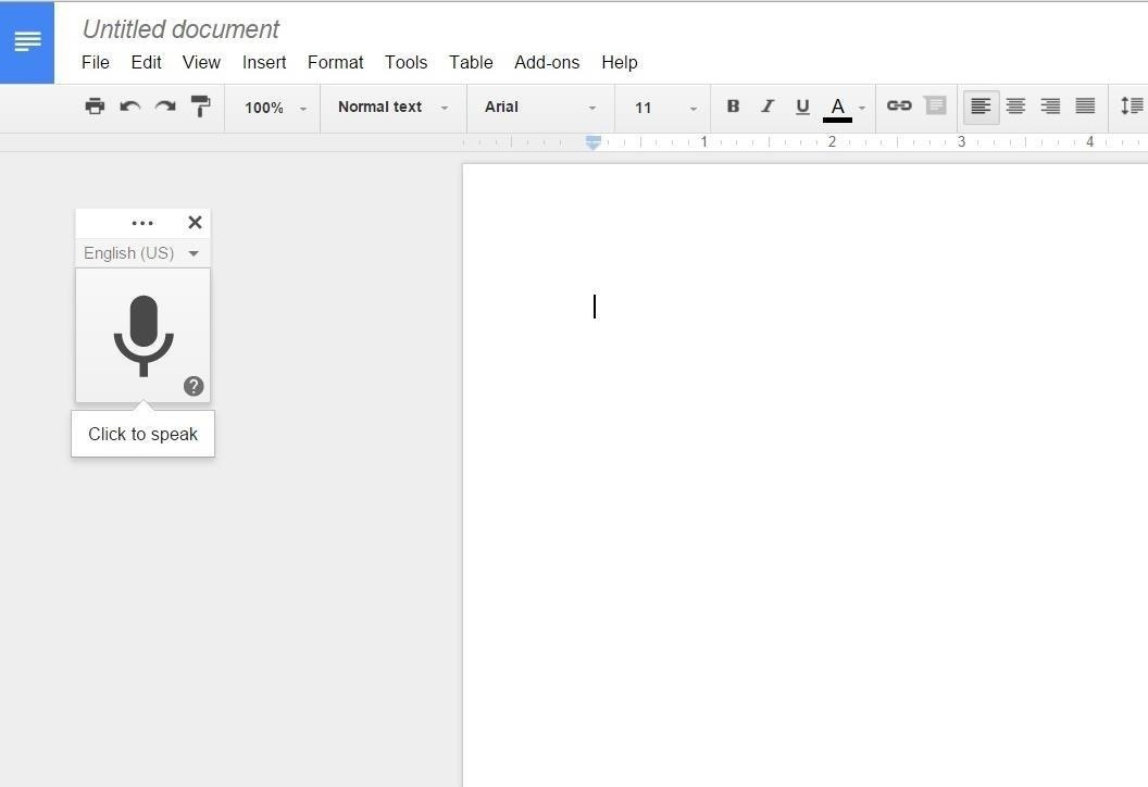 How to Use Speech-to-Text & Other Voice Commands in Google Docs