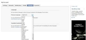 "Change your Facebook language to ""Pirate"""