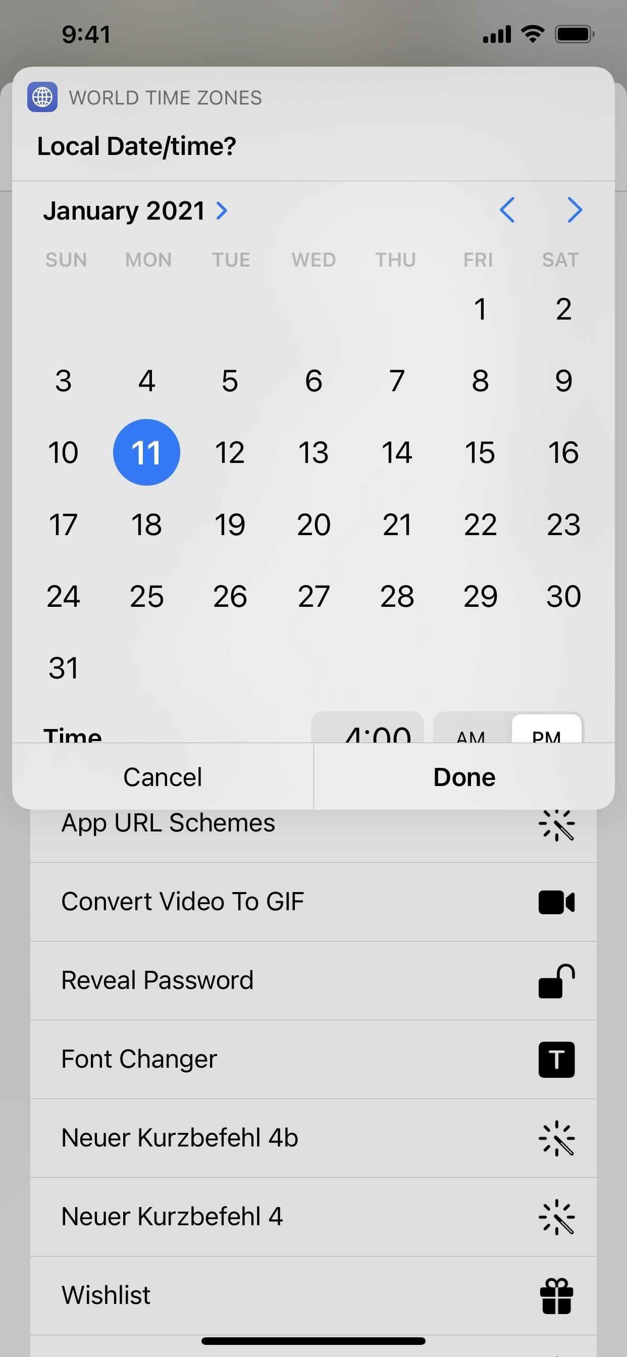 Convert Dates & Times to Different Time Zones on iOS Without Leaving the App You're In