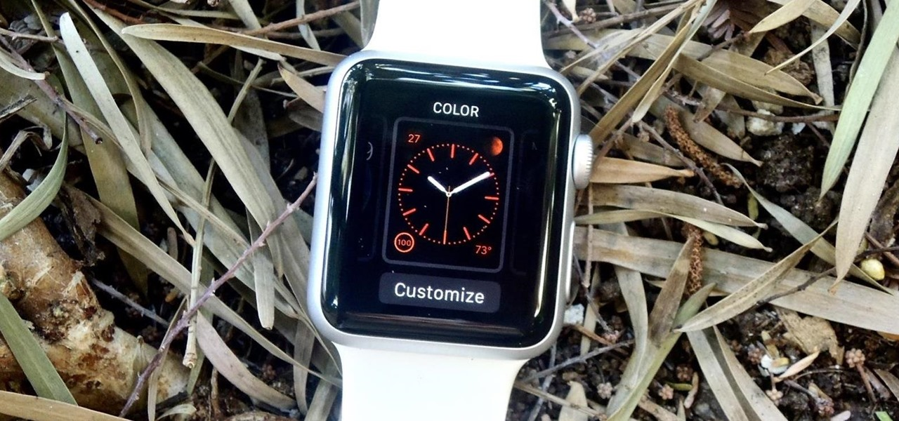 Customize the Face on Your Apple Watch