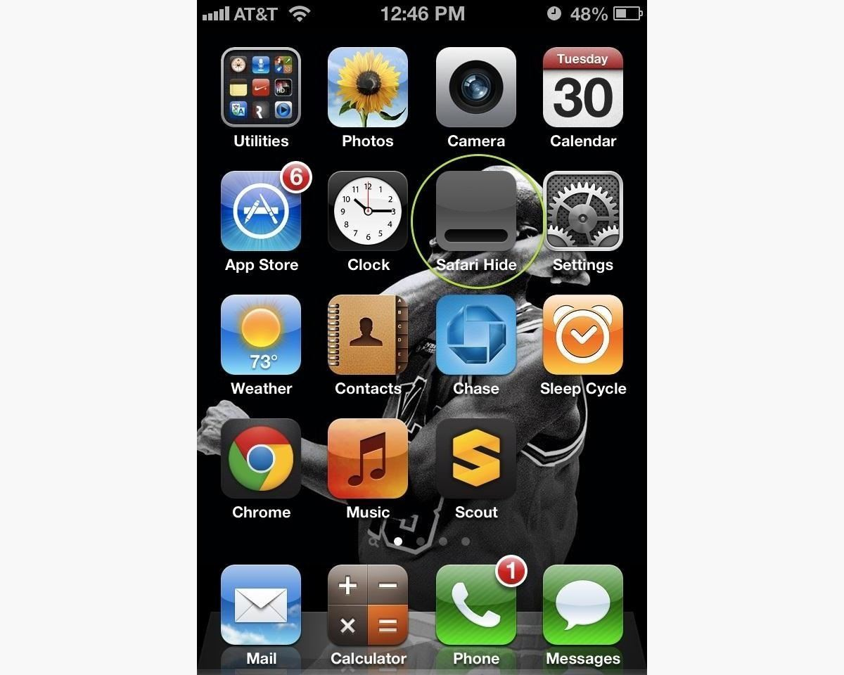How to Hide All of the Stock Apple Apps on Your iPhone Without Jailbreaking