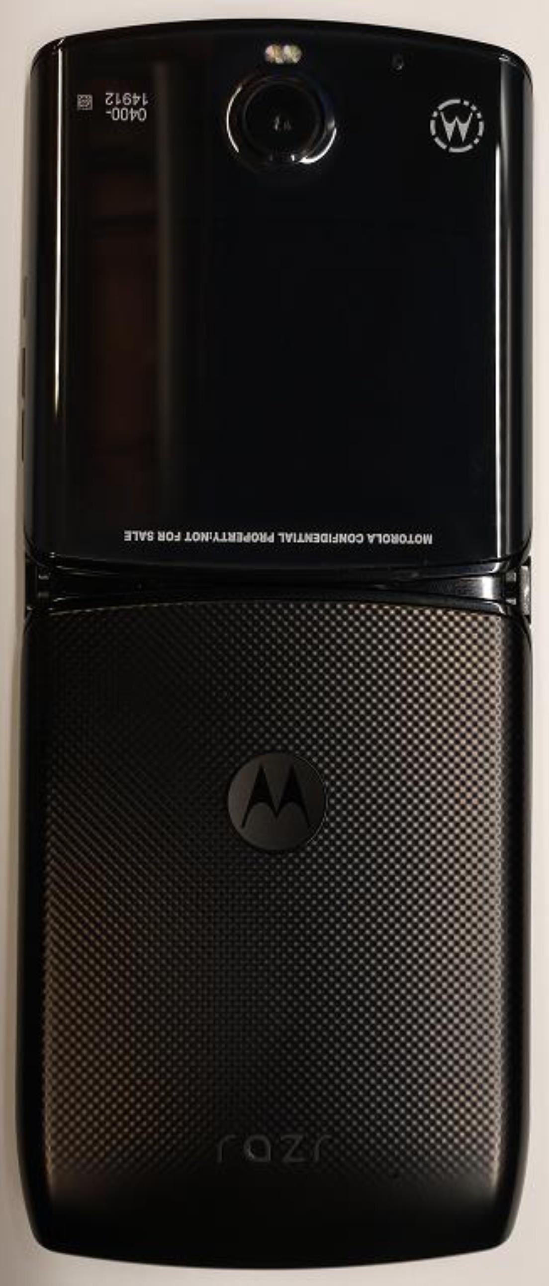 New Photos of the 2019 Motorola RAZR Surface in FCC Filing, Reveal Dimensions, Notch & Biometrics
