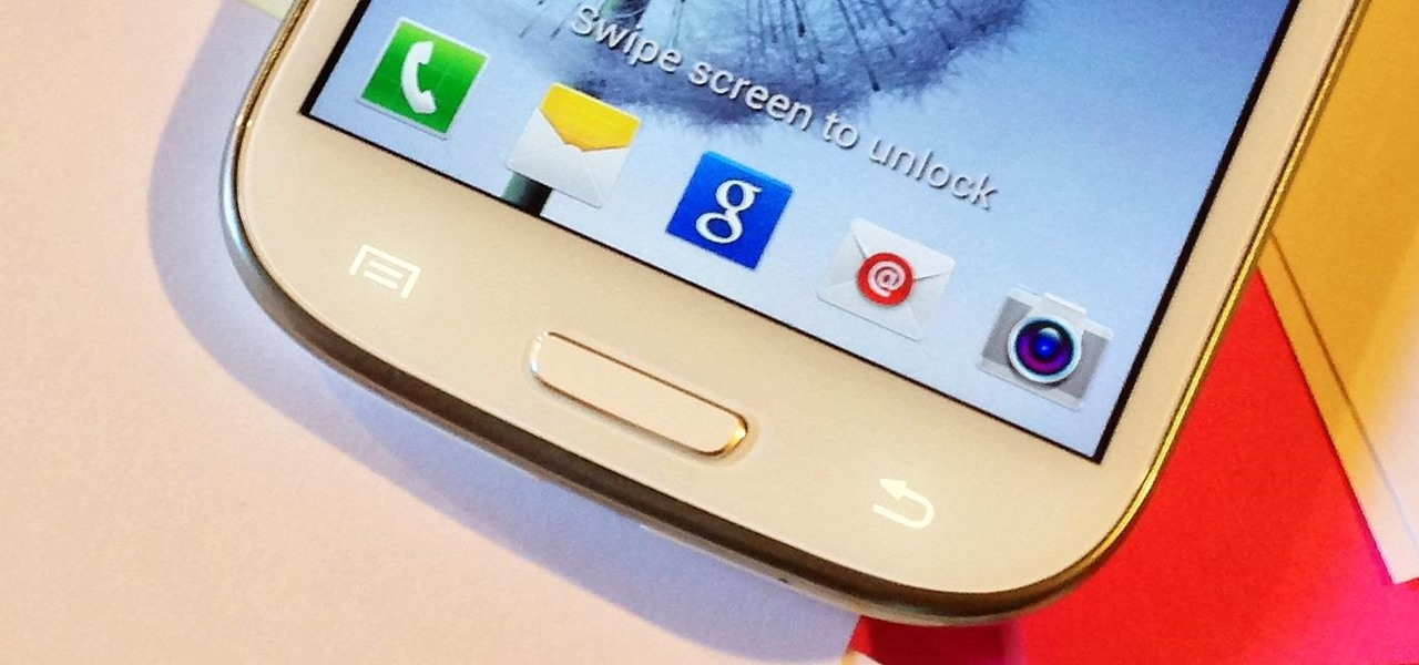 How To Customize The Home Button Shortcut On Your Samsung Galaxy S3 For Any App You Want Samsung Galaxy S3 Gadget Hacks