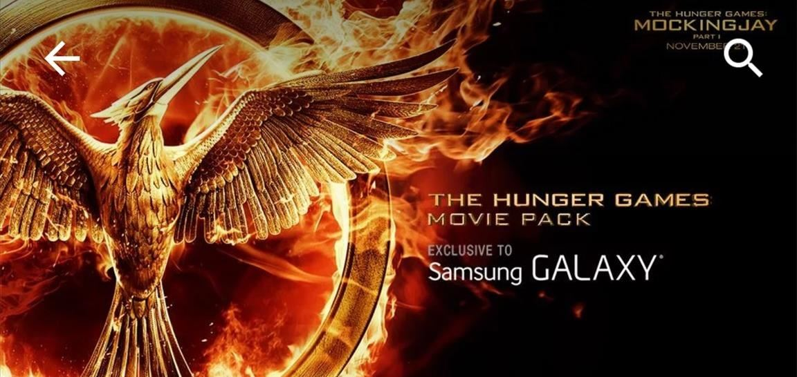 How to Get the Hunger Games Movies for Free on Sasmsung Galaxy Devices