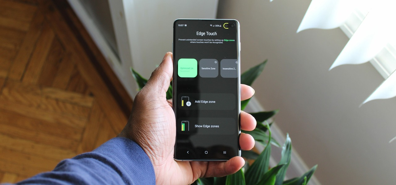 Edge Touch Updated for One UI — Stop Accidental Touches on Your Galaxy S10