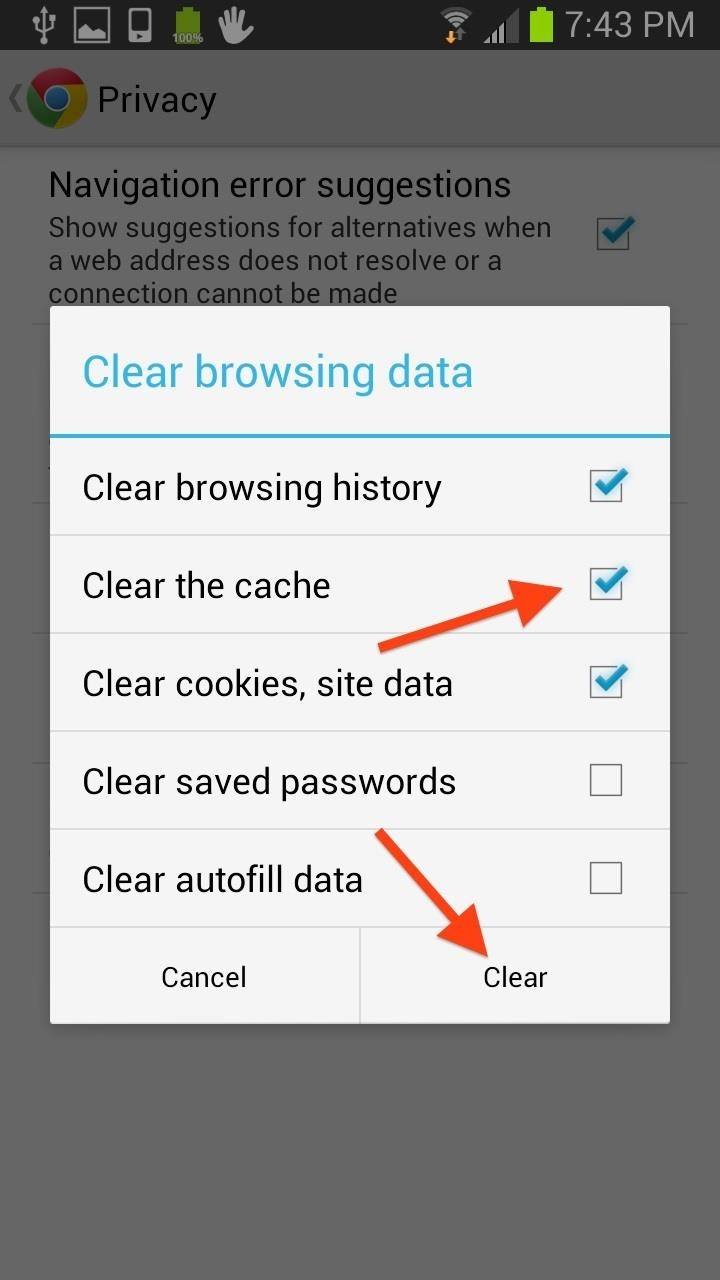 How to Clear Your Cache on Any Web Browser « Digiwonk ...