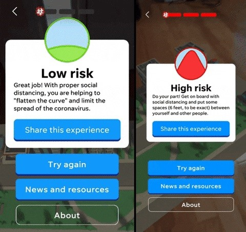 Test Your Social Distancing Skills from Home with This AR App for Android & iOS
