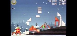Get three stars on level 19 of Angry Birds Seasons