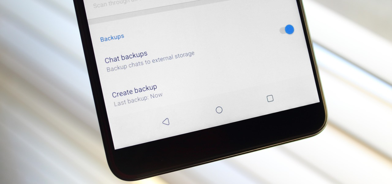 Back Up & Restore Your Signal Messages on Android