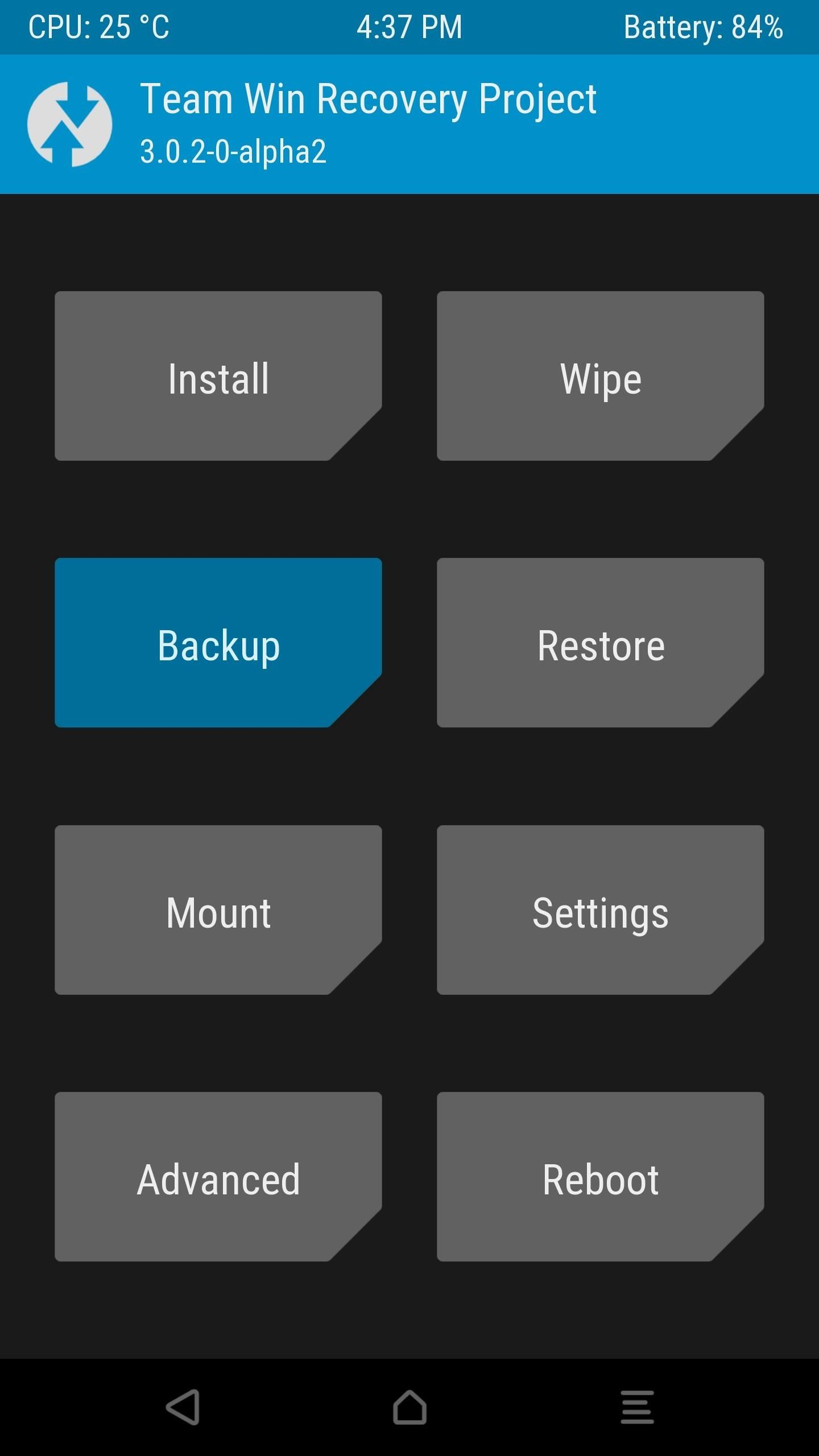 Twrp 101 How To Make A Nandroid Backup Restore Your Entire Phone Screenshots From Android Electric Toolkit Finally Just Swipe The Slider At Bottom Of Screen Start Process Which Can Take As Long 15 Minutes When Its Done Simply Tap