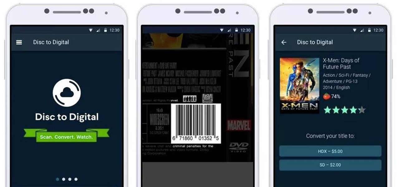 'Convert' & Watch Your Old DVDs on Your Smartphone with Vudu