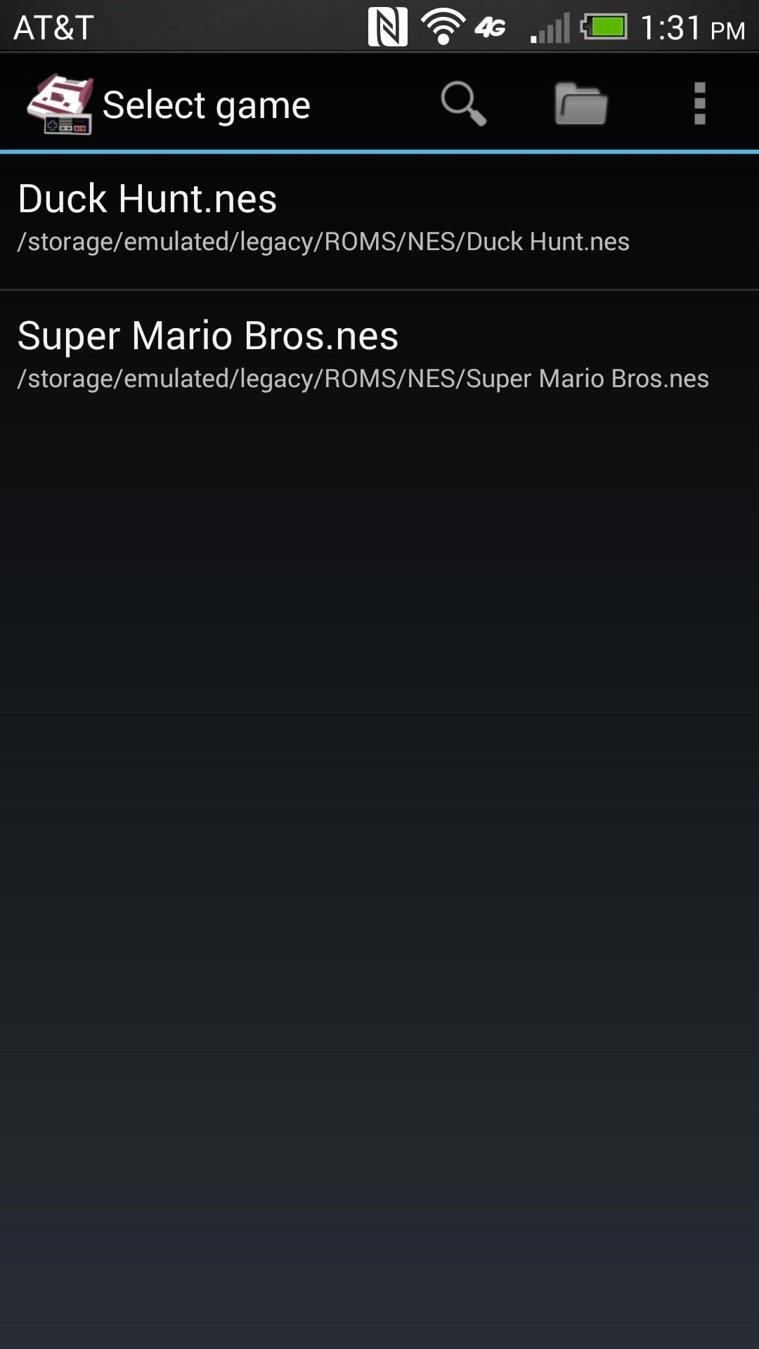 The Easiest Way to Play Classic NES Games on Your HTC One