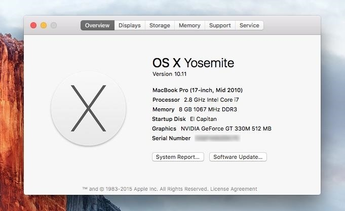 How to Dual Boot Mac OS X 10.11 El Capitan & 10.10 Yosemite