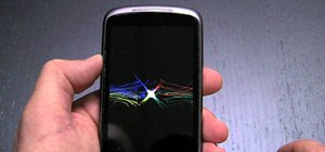 Reset a Nexus One smartphone to default settings