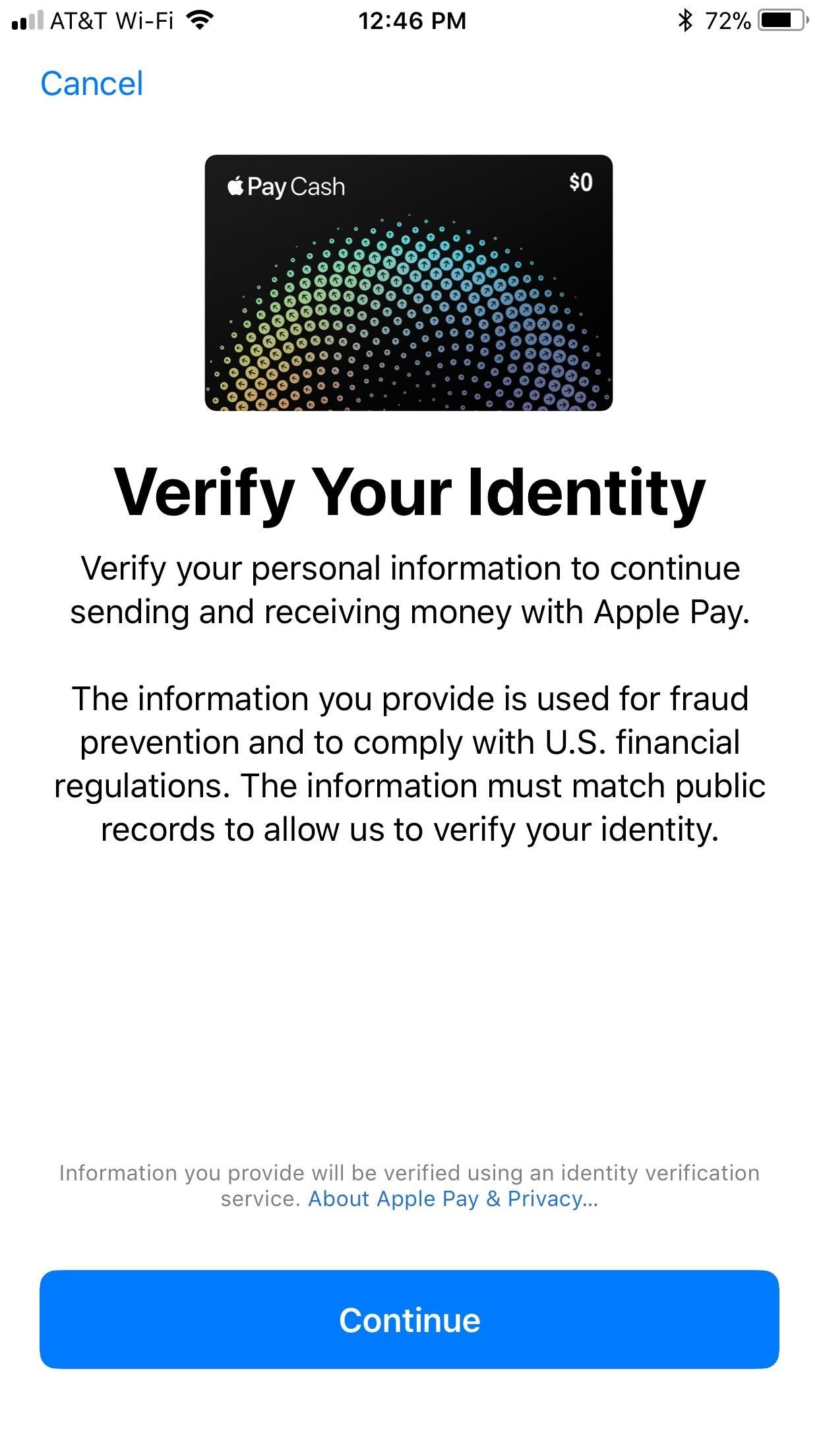 Apple Pay Cash 101: How to Verify Your Identity with Apple