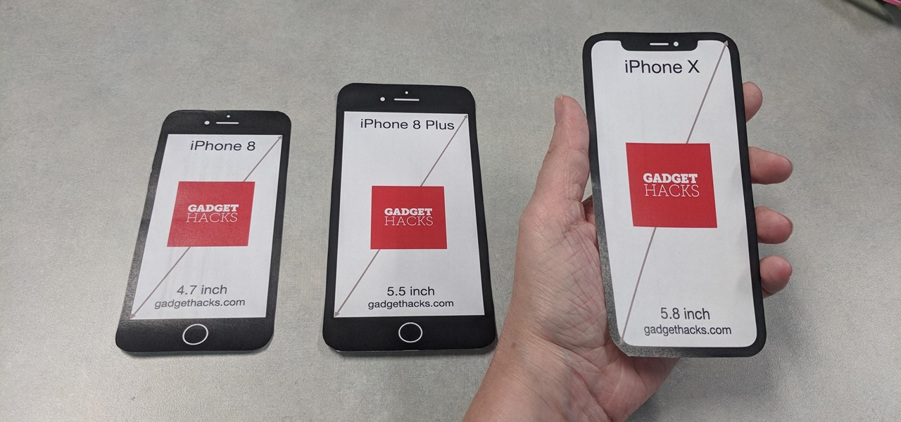 Print Out These Cutouts to See Which iPhone Size Is Right for You