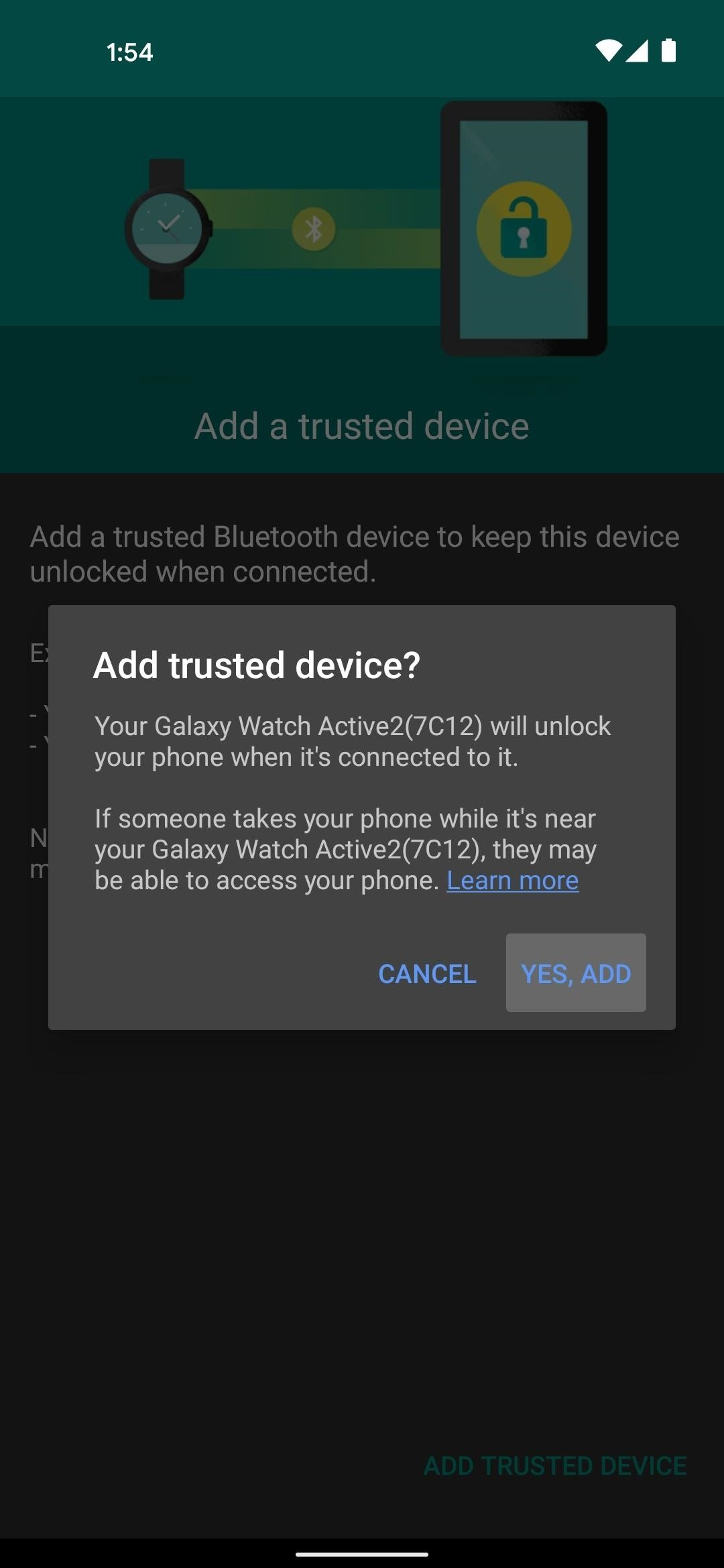 Android already has the iPhone's new Apple Watch Unlock, and it works with any smartwatch
