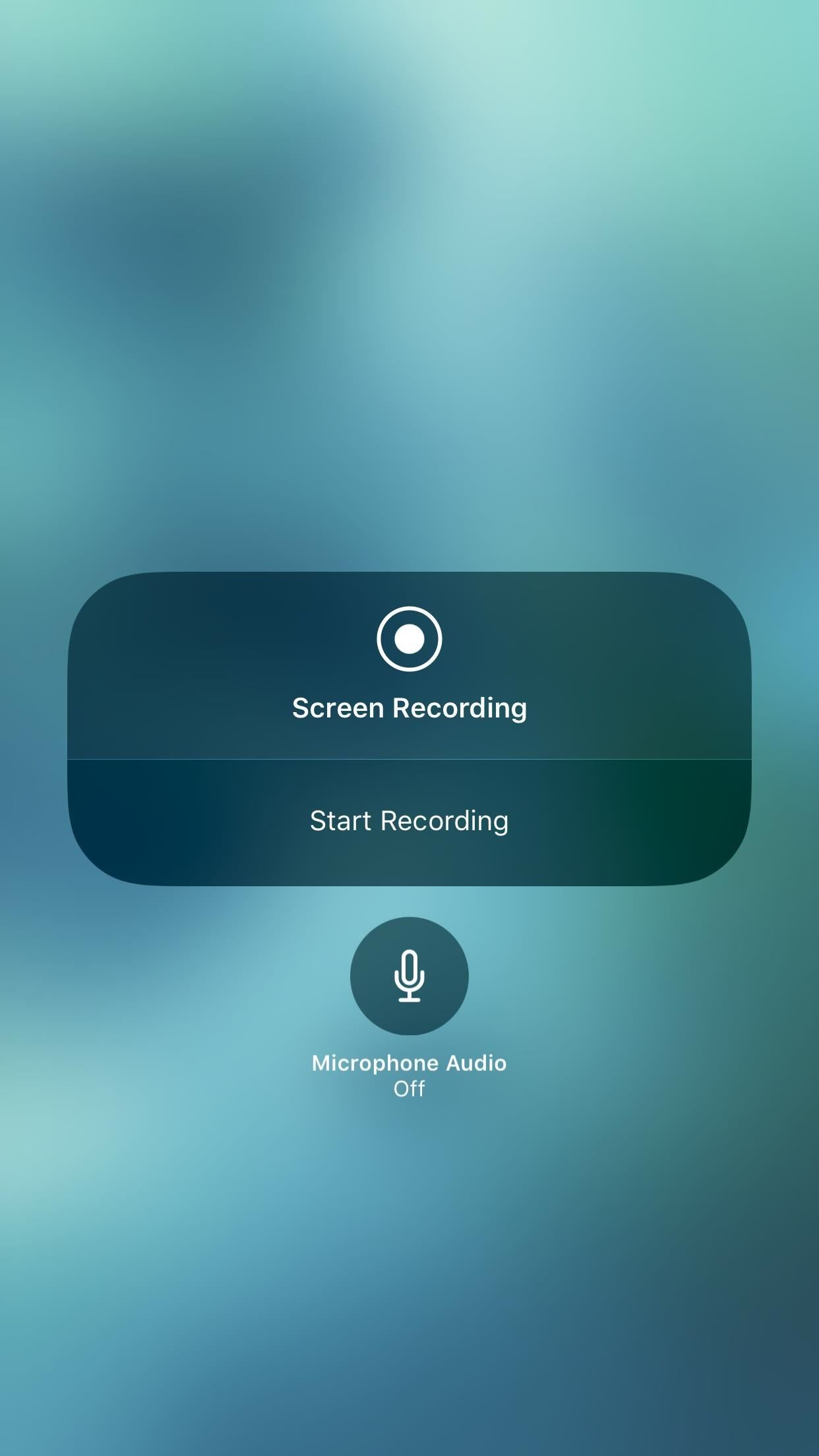How to Record Your iPhone's Screen with Audio in iOS 11 — No Jailbreak or Computer Needed