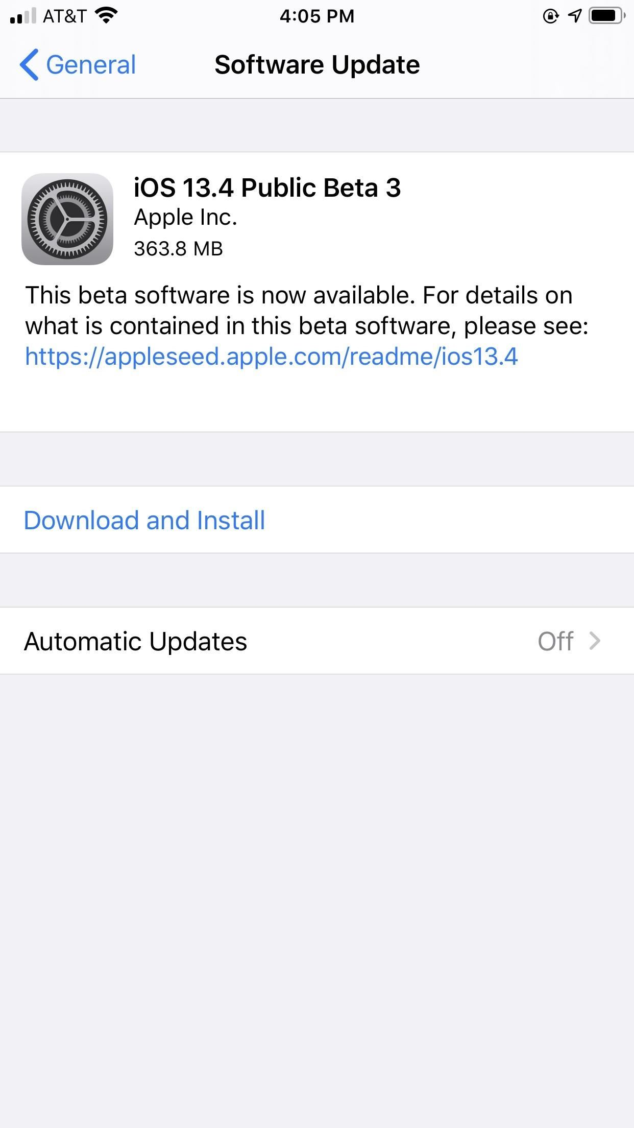 Apple Releases iOS 13.4 Public Beta 3 for iPhone, Tips for Future & # 39; OS Recovery & # 39; Mode