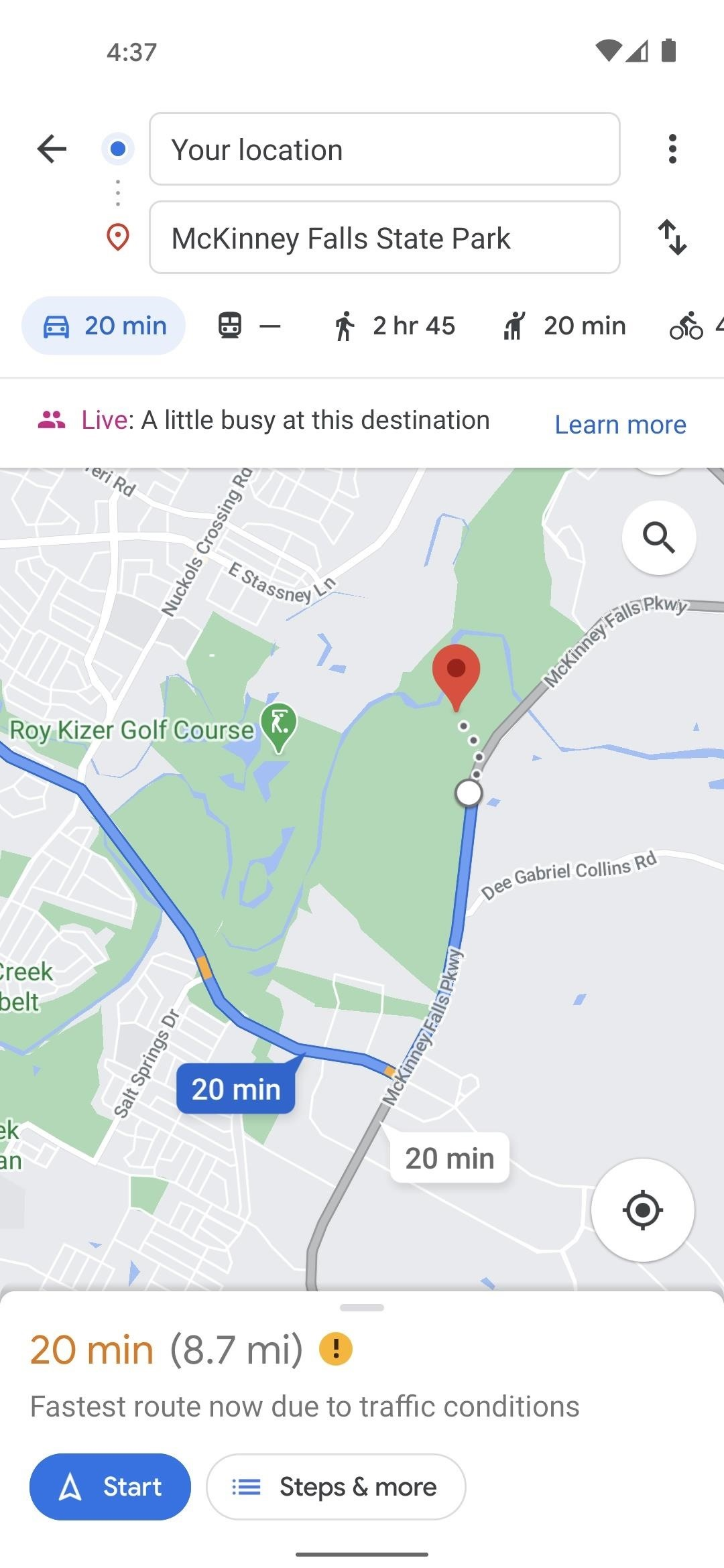 How to See What Traffic Is Usually Like Between Any 2 Addresses