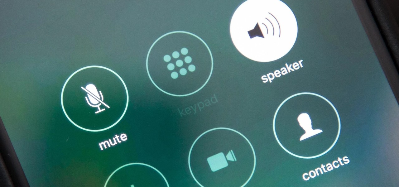 Turn Your iPhone's Speakerphone On Automatically for FaceTime Audio Calls