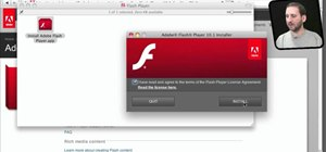 Install Adobe flash plug-in on your Apple Mac