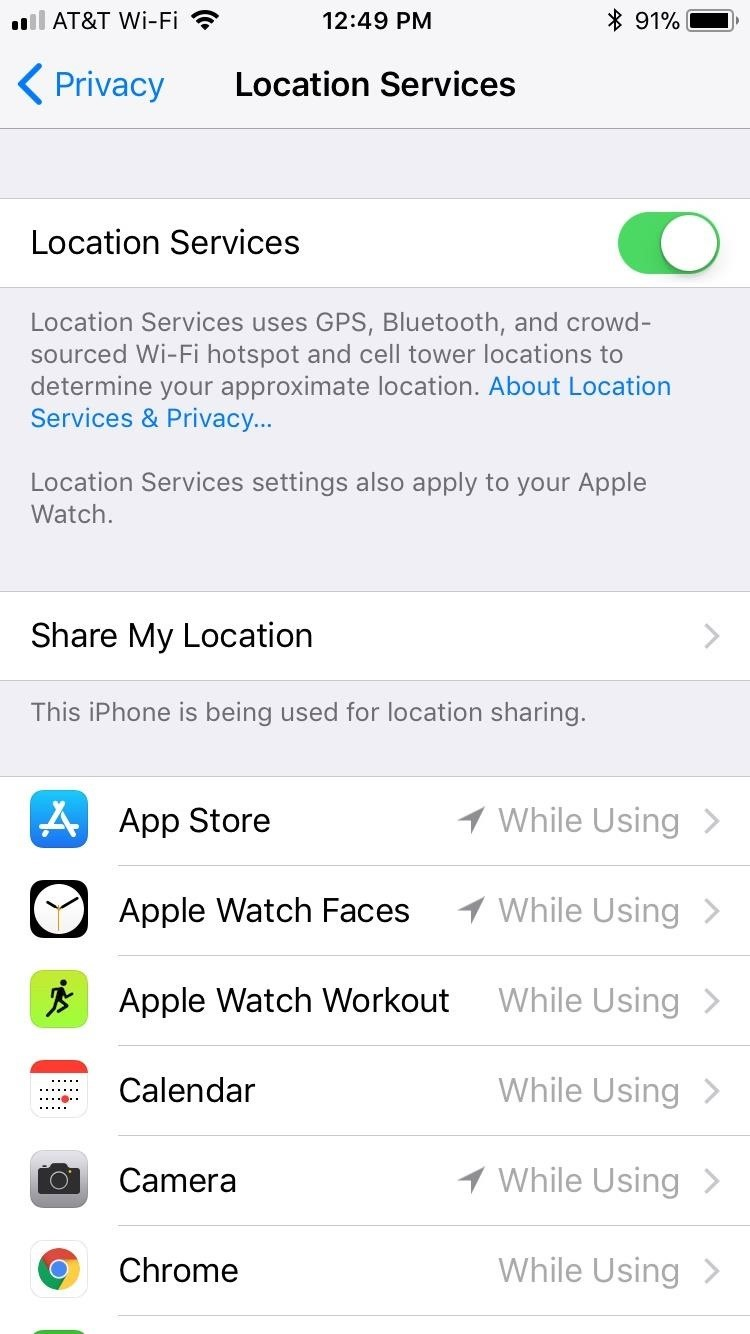 30 Privacy and security settings in iOS 12 You should now check
