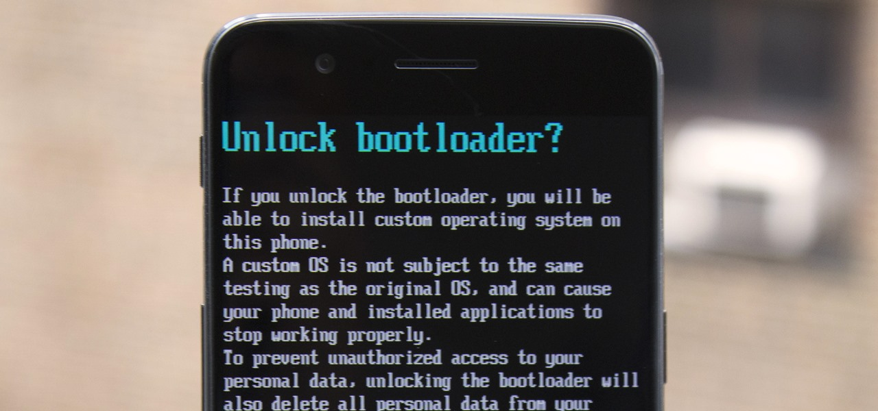 Unlock the Bootloader on Your OnePlus 5 & Install TWRP Recovery
