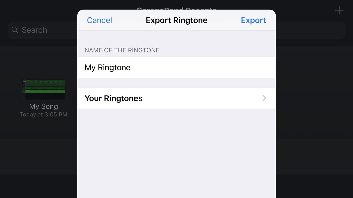 GarageBand 101: How to Save Your Songs as Custom iPhone Ringtones & Alert Tones
