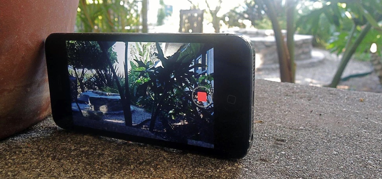 Shoot Time-Lapse Videos Using Your iPhone's Stock Camera App (iOS 8)