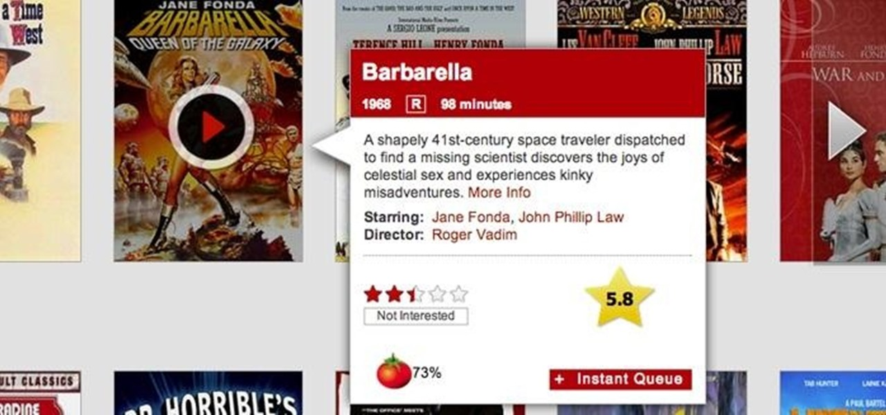 Add IMDB and Rotten Tomatoes Ratings to Your Netflix with 'Netflix