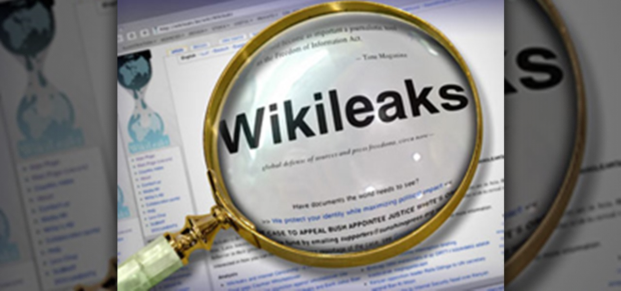 Wikileaks ebook the files