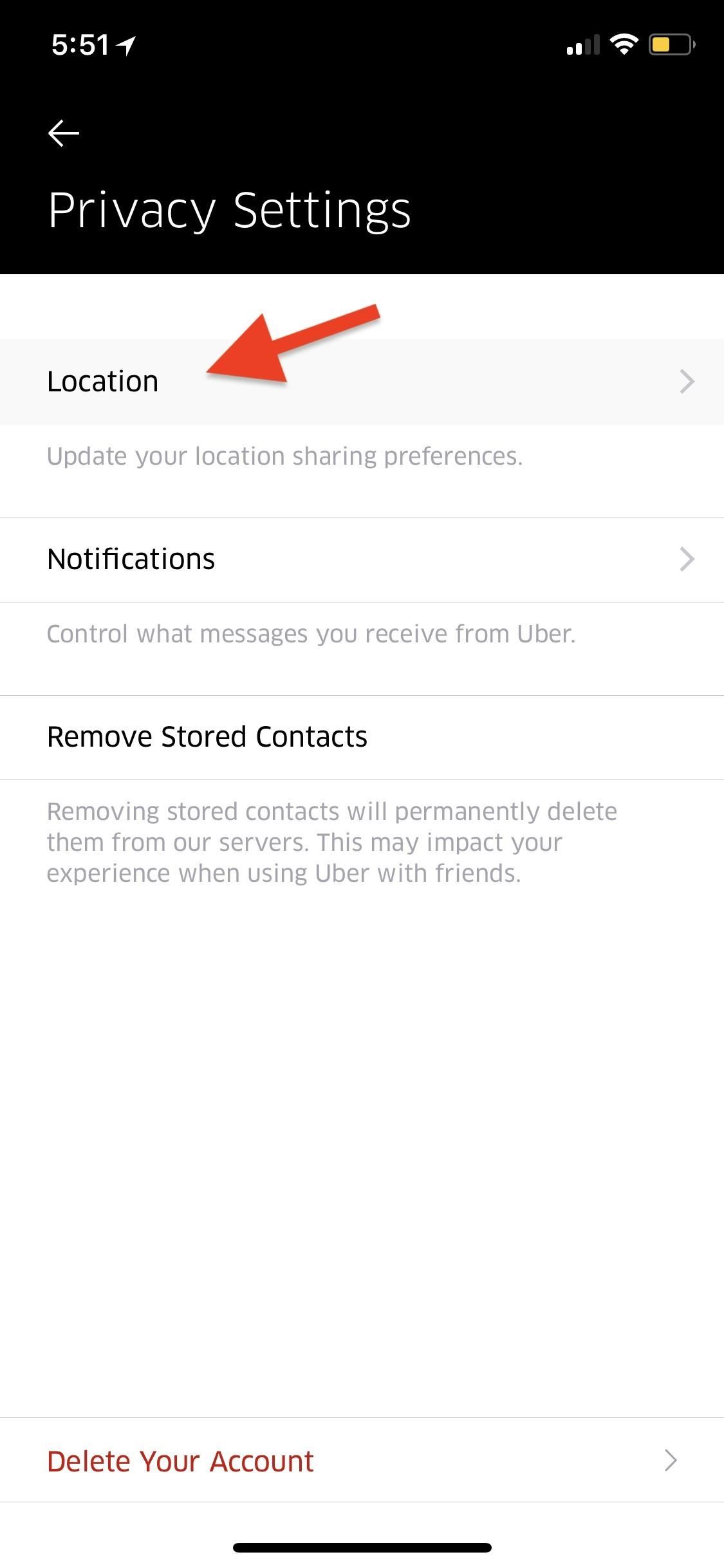 How to Stop Uber from Tracking Your Location in the Background on Your iPhone
