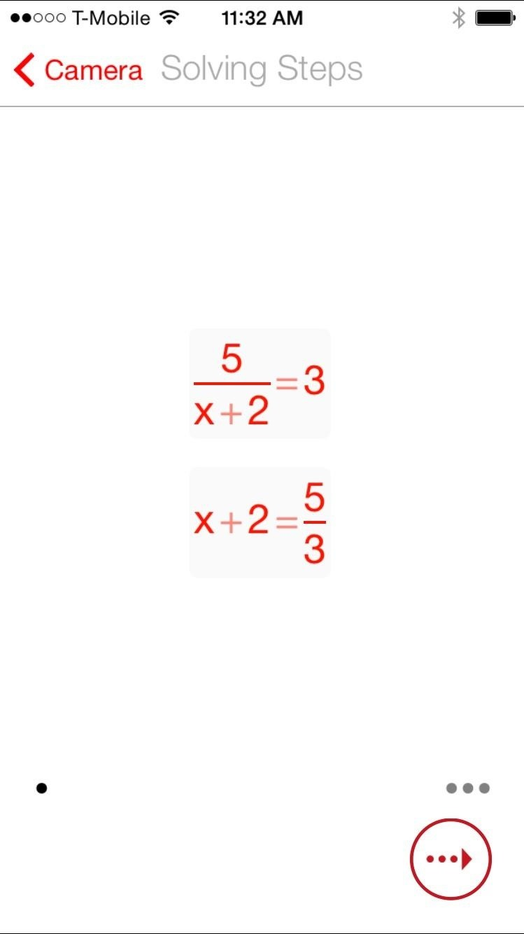 use your iphone s camera to solve difficult math problems although the application is amazingly accurate for certain equations it won t help you out your intricate calculus or the like