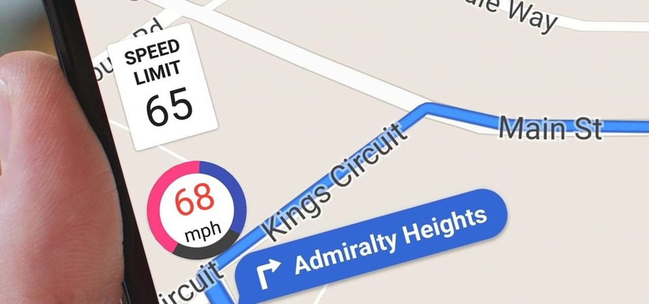 Add a Speedometer to Google Maps on Android