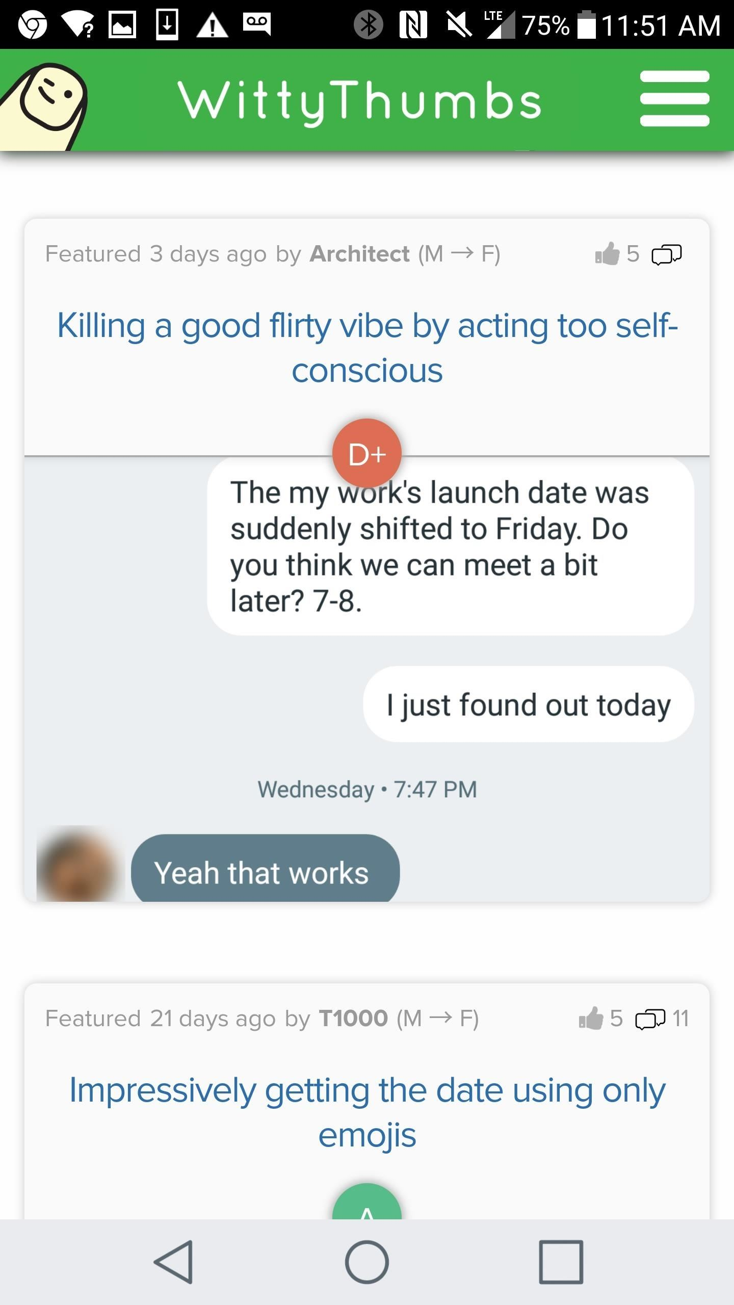 WittyThumbs Offers Online Advice for Online Dating