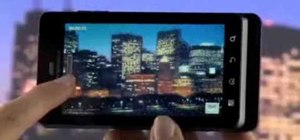 Record HD video with the Camera app on the Motorola Droid 3 Verizon smartphone