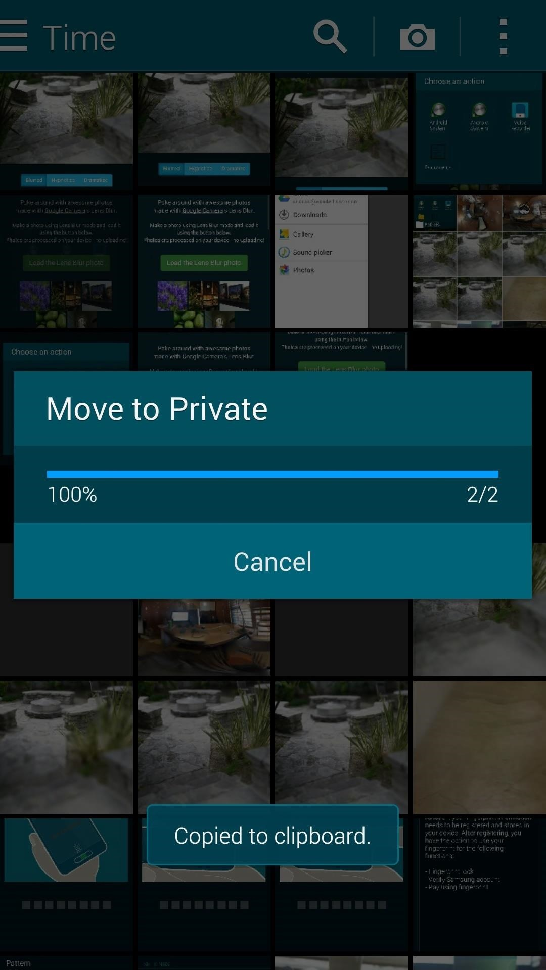 How to Hide Secret Files on Your Galaxy S5 Using Samsung's Built-In Private Mode