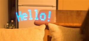 Write in Midair with LEDs