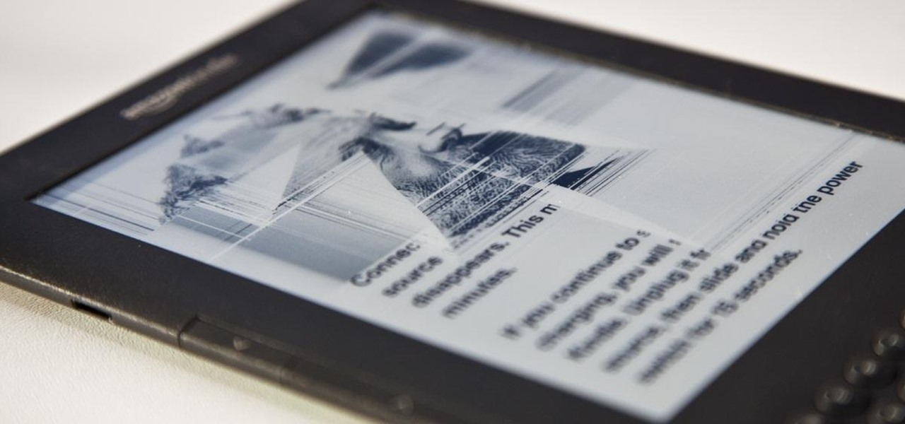 Replace Your Kindle's Broken E Ink Display Yourself