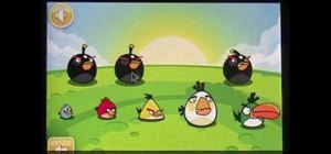 Get Golden Egg #12 in Angry Birds for the iPhone